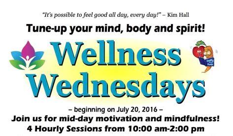 Wellness Wednesdays header