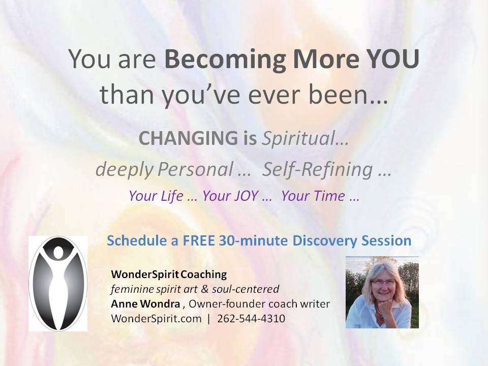 You are Becoming More YOU than you've ever been