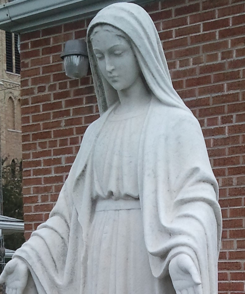 Mother Mary, goddess of catholics