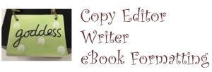 copy editor writer ebook formatting