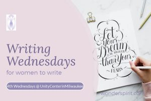 Writing Wednesdays for women to write